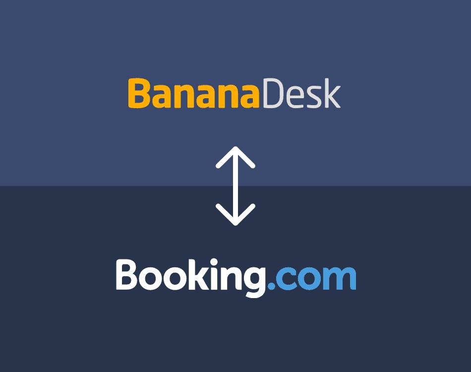Conecta Booking.com con BananaDesk e importa todas tus reservas.