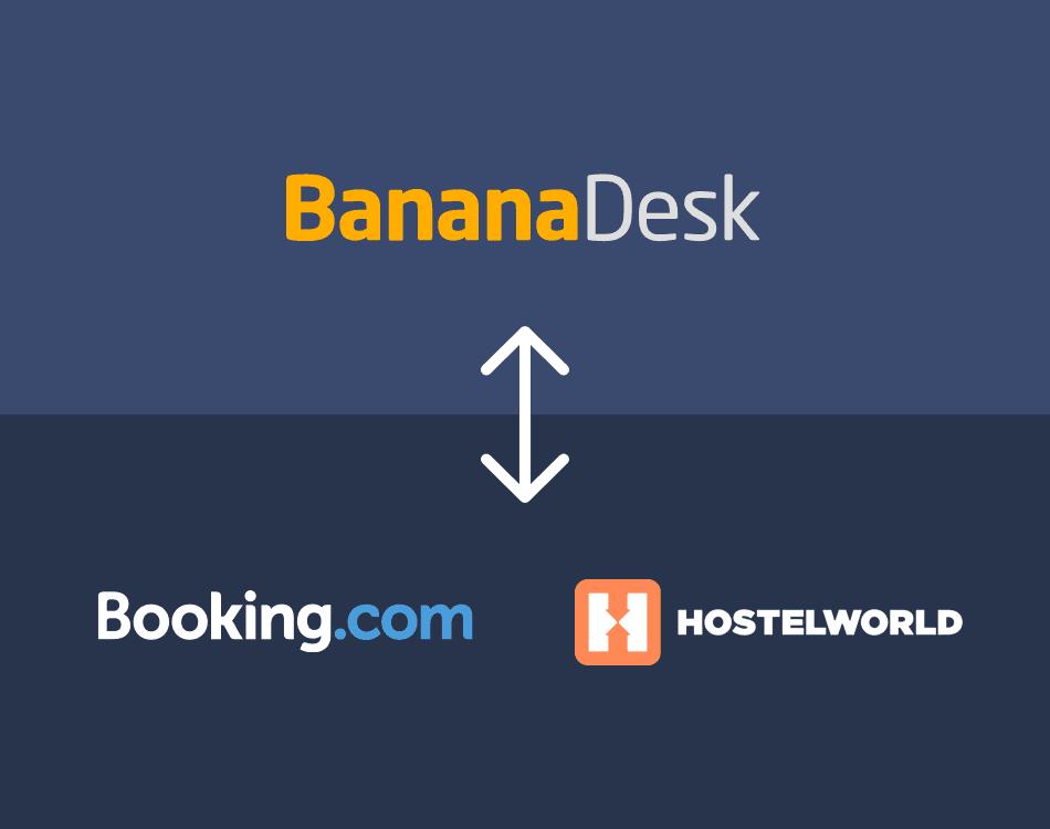 Conecta Hostelworld con BananaDesk y terminaste!
